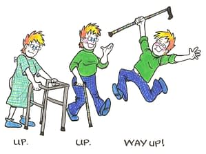 Up. Up. Way Up!