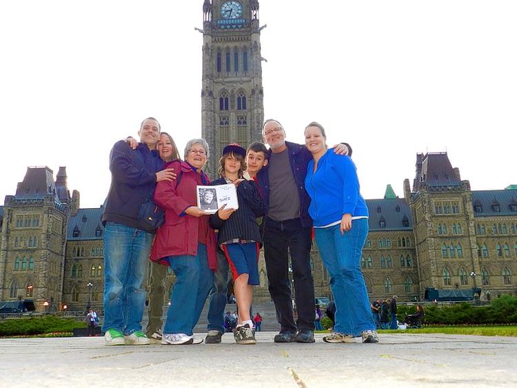 Parliament Hill ALS Walk 2012